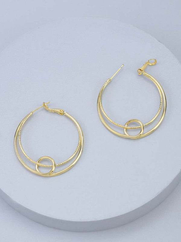 Tipsyfly Knot Hoops