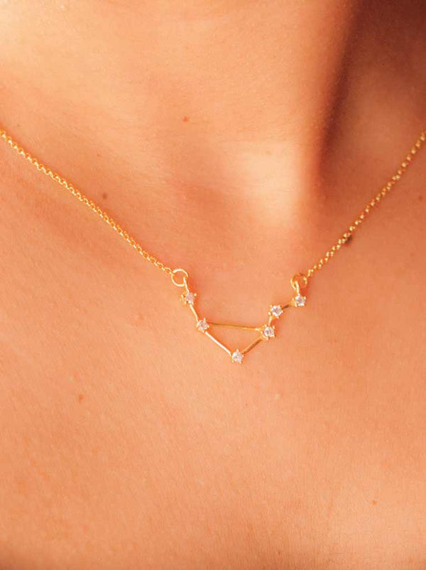 Tipsyfly Libra Constellation Necklace