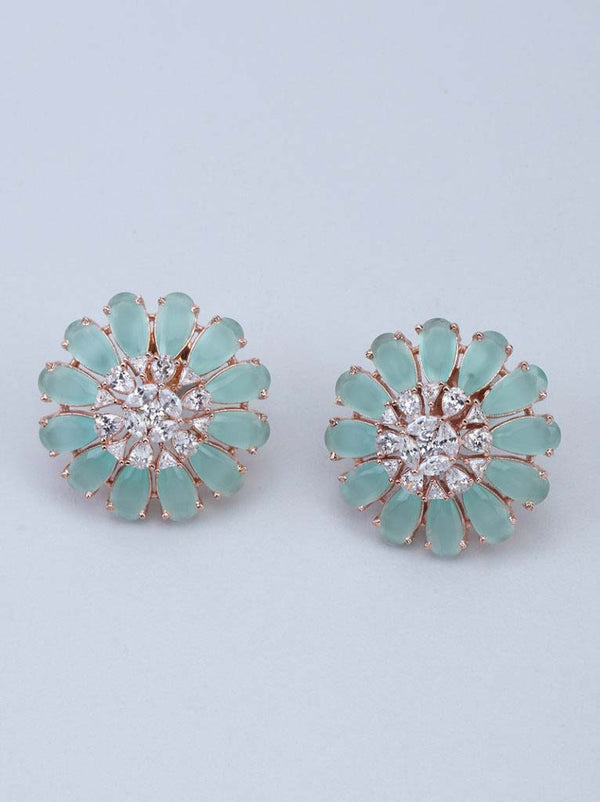 Tipsyfly Mint Bloom Earrings - Tipsyfly