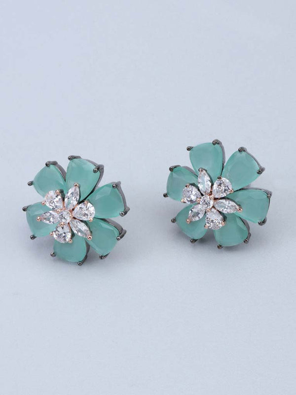 Tipsyfly Mint Corolla Earrings - Tipsyfly