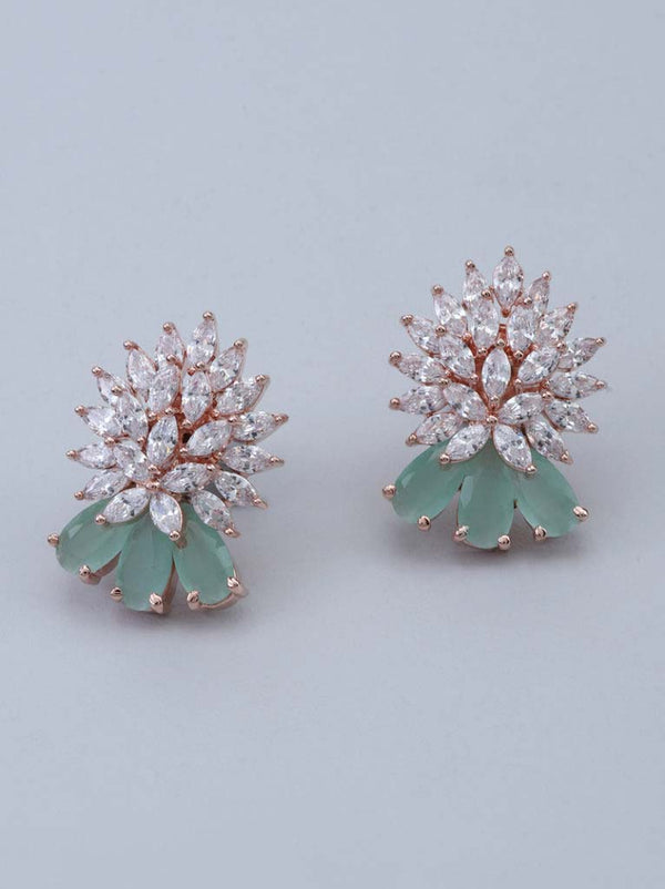 Tipsyfly Mint drop studs