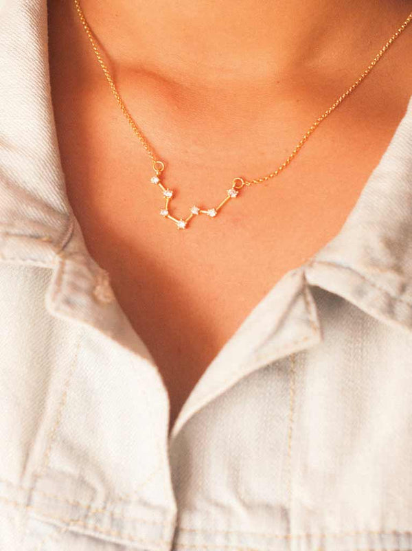 Tipsyfly Pisces Constellation Necklace