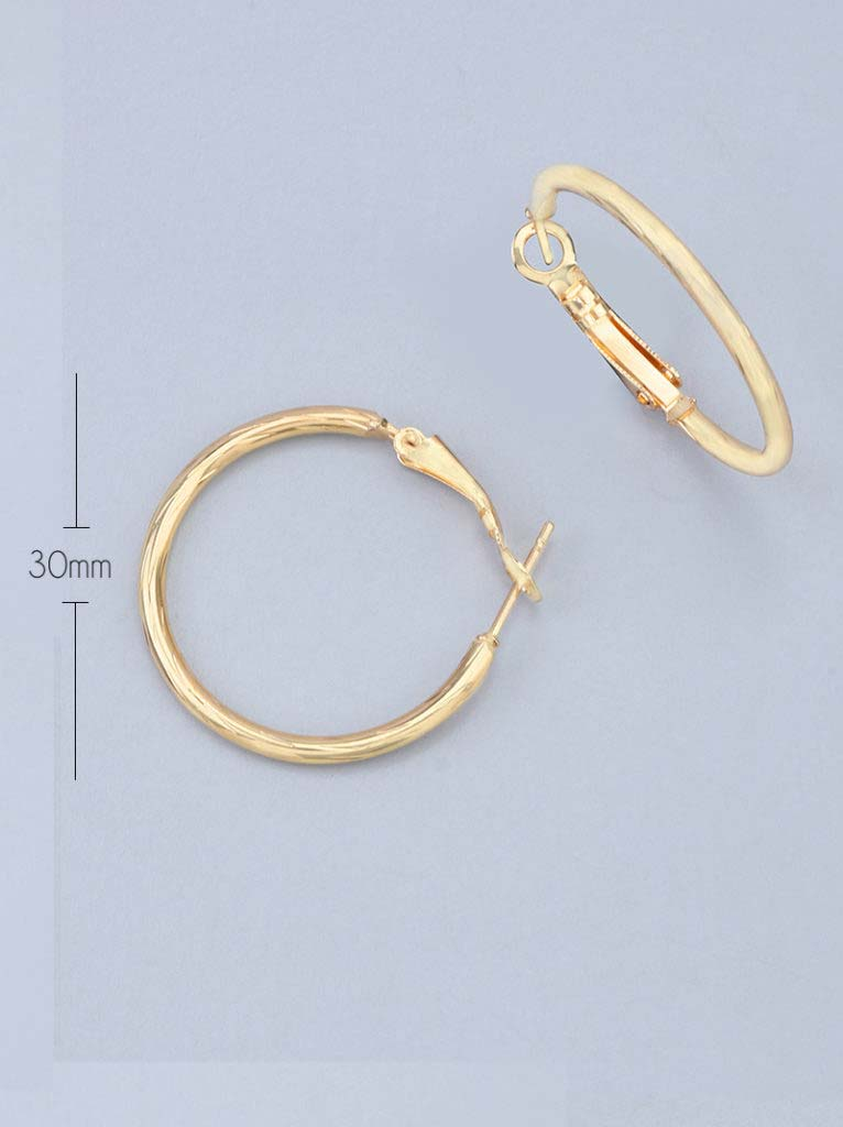 Tipsyfly Twist Hoops XSmall (30mm)