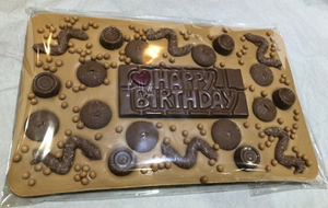 Happy Birthday Giant Chocolate Bar
