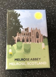 Melrose Abbey Magnet