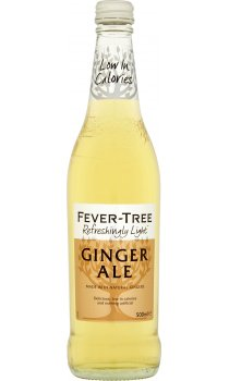 Refreshingly Light Ginger Ale (500ml) - Fever-Tree