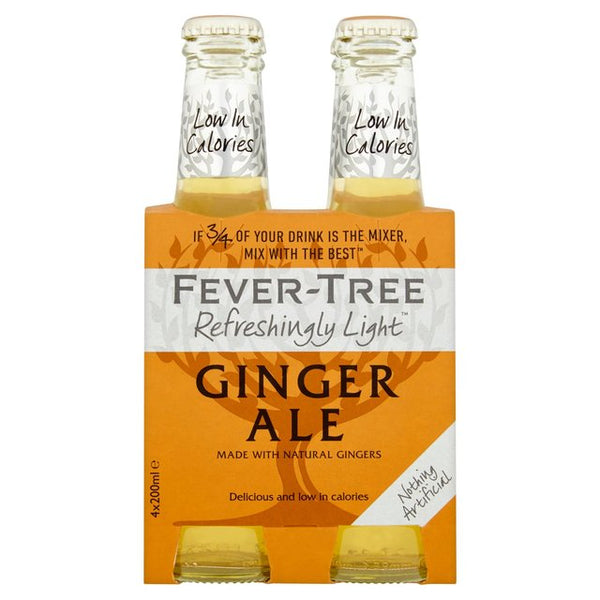 Refreshingly Light Ginger Ale (4x200ml) Fever-Tree