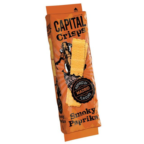 Madrid Smoky Paprika Crisps (75g) - Capital Crisps