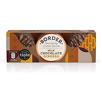 Milk Chocolate Gingers 150g - Border Biscuits