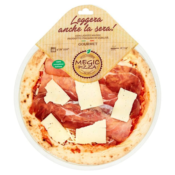 Speck & Montasio Cheese - Megic Pizza