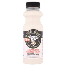 Strawberry & Cream Milkshake (750ml)  - Shaken Udder