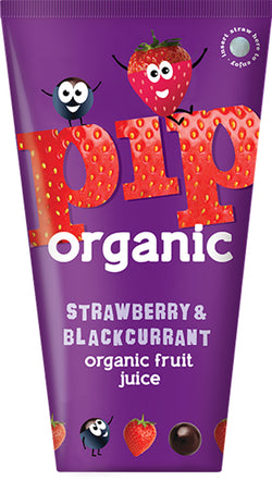 Strawberry & Blackcurrant Juice (180ml) - PIP Organic