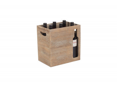 6 Beer Bottle Cut Out Holder