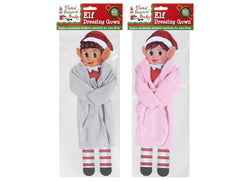 Plain Colour Dressing Gowns for Elf on Shelf