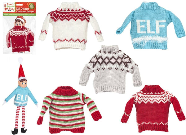 Deluxe Elf Knitted Sweaters