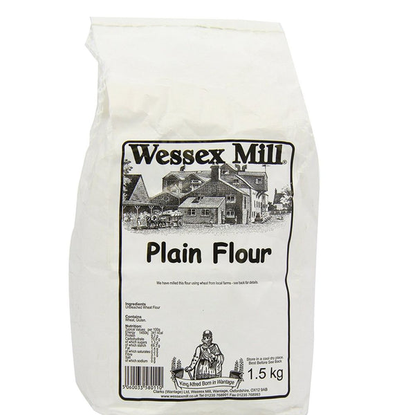 Plain Flour (1.5kg) - Wessex Mill
