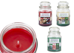 Bell Jar Xmas Candle Trio Scent