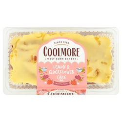 Lemon and elderflower Cake (400g) - Coolmore