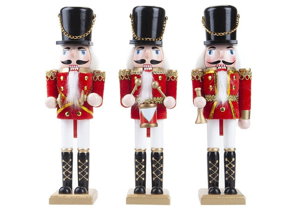"Band Nutcracker with Hang Tag - 10"" (Nut Cracker)"