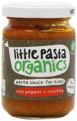 Red Pepper & Ricotta Sauce (130g) - Little Pasta Organics