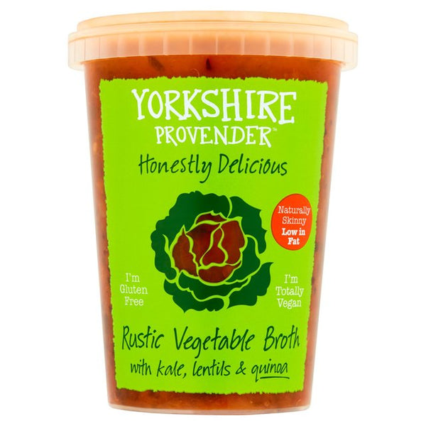 Rustic Veg Broth with Lentils, Kale & Quinoa - Yorkshire Provender