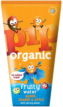Mango, Orange & Apple Fruity Water (200ml) - PIP Organic