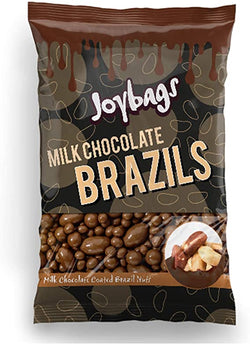 Milk Chocolate Brazils (150g) - Joybags