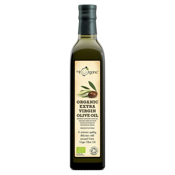 Organic Italian Extra Virgin Olive Oil (500ml) - Mr Organic