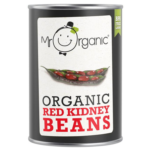 Organic Red Kidney Beans 400g - MR ORGANIC