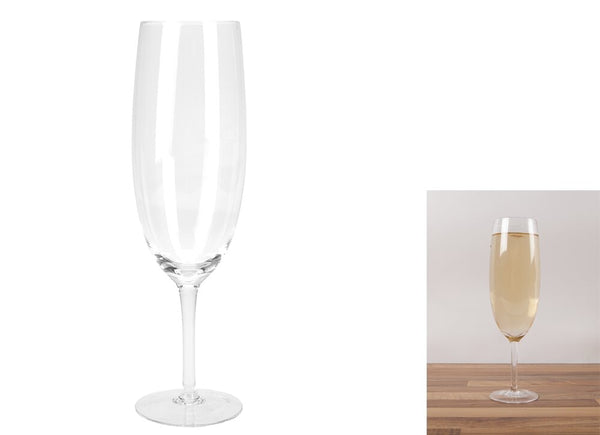 Novelty Giant Prosecco Glass in Colour Box