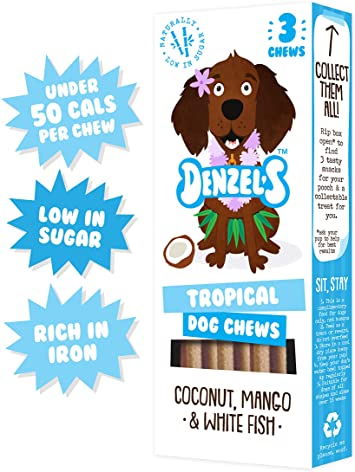Tropical Dog Chews - Denzel's