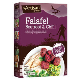 Beetroot & Chilli Falafel (150g) - Artisan Grains