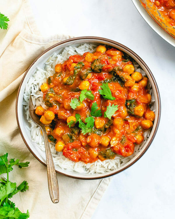 Roasted Veg & Chickpea Curry (Serves 1) - Cook