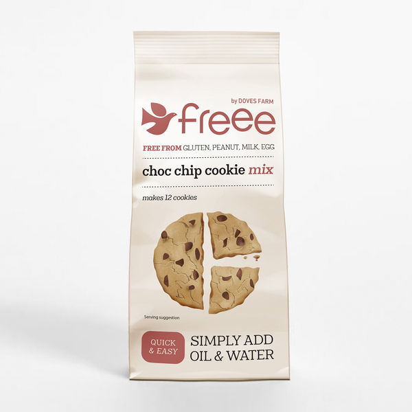 Gluten Free Choc Chip Cookie Mix 350g - DOVES FARM