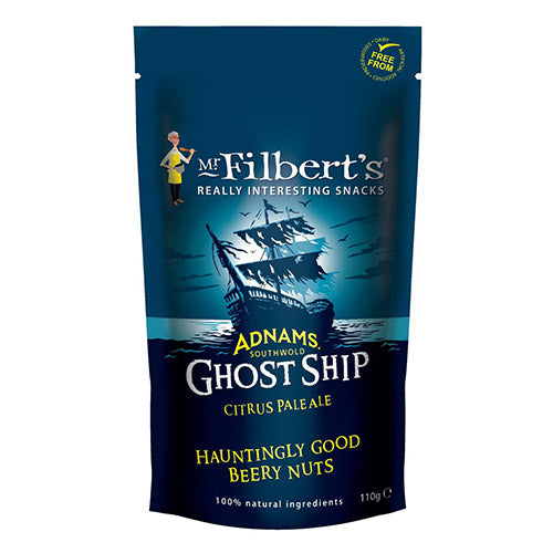 Adnam's Ghost Ship Beery Peanuts (110g)- Mr Filberts