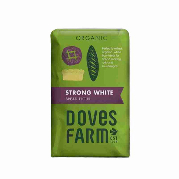Strong White Bread Flour (1.5g) - Doves Farm