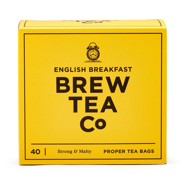 English Breakfast Tea - Brew Tea Co