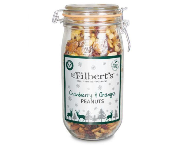 Cranberry & Orange Fruit & Peanut Mix - Mr Filbert's (800g)