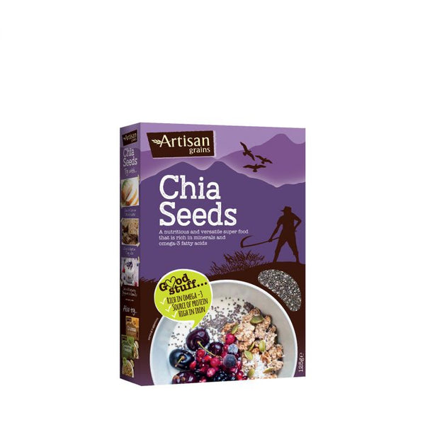 Chia Seeds (125g) - Artisan Grains