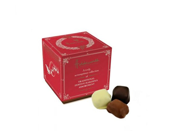 Traditional Festive Marzipan Collection - Holdsworth Chocolates (100g)