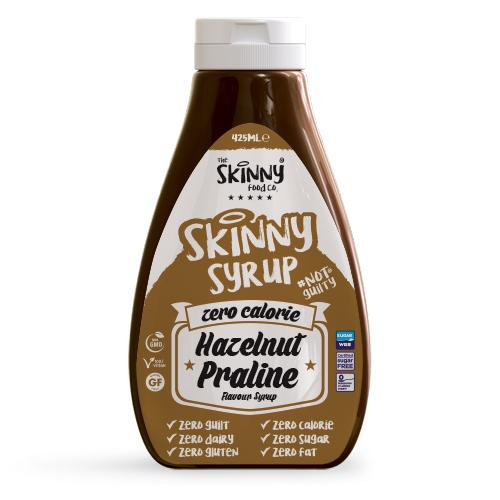 Hazelnut Praline #NotGuilty Zero Calorie Sugar Free Syrup - The Skinny Food Co - 425ml