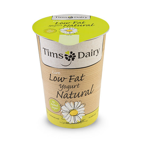 Low Fat Natural Yogurt (500g) -  Tims Dairy