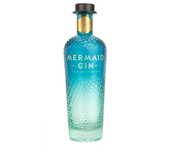 Mermaid Gin - Small Batched Distilled London Dry Gin (700ml)