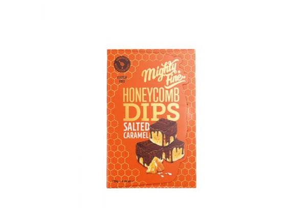 Milk Salted Caramel Honeycomb Dips - Mighty Fine (135g)