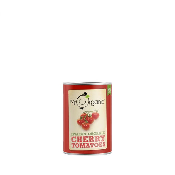 Cherry Tomatoes (BPA Free) (400g)- Mr Organic