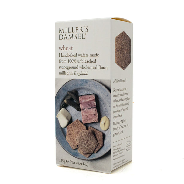 Wheat Wafers Miller's Damsel (125g Box)
