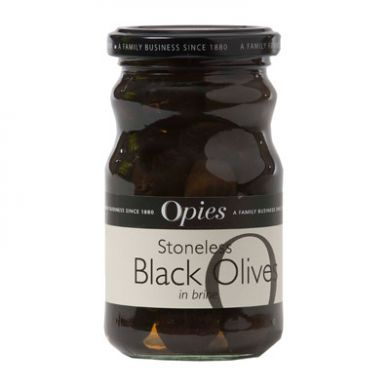 Stoneless Black Olives (227g) - Opie's