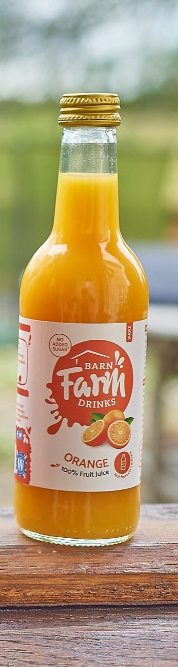 Farm Pressed Orange Juice (330ml) - Barn Farm Drinks