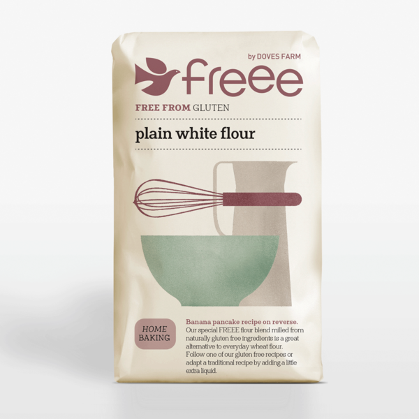Organic Plain White Flour (1kg) - Doves Farm