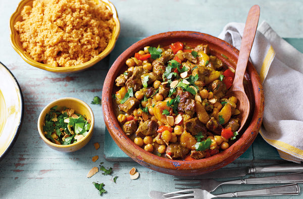 Moroccan Spiced Lamb Tagine (Serves 4) - Cook